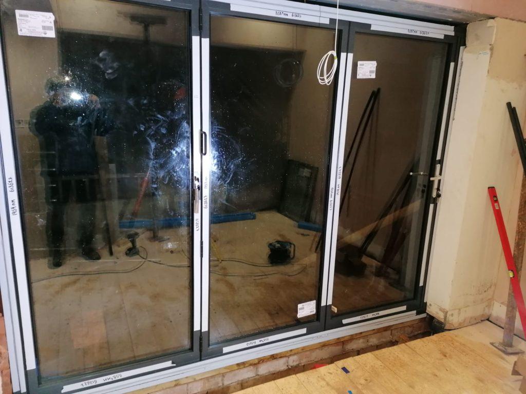 aluminum biofold door